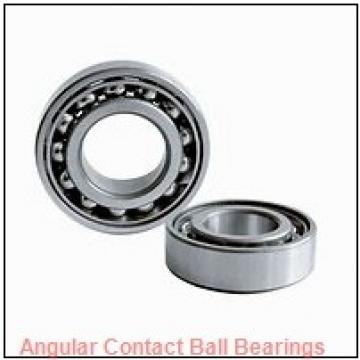 38 mm x 73 mm x 40 mm  38 mm x 73 mm x 40 mm  Fersa F16117 angular contact ball bearings