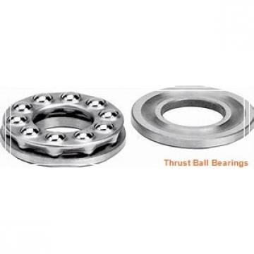 57.15 mm x 127 mm x 31.75 mm  57.15 mm x 127 mm x 31.75 mm  SKF CRM 18 A thrust ball bearings