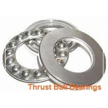 100 mm x 170 mm x 21 mm  100 mm x 170 mm x 21 mm  NSK 54320 thrust ball bearings