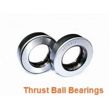 100 mm x 170 mm x 15 mm  100 mm x 170 mm x 15 mm  NKE 54224-MP thrust ball bearings