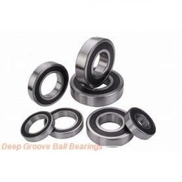 45 mm x 85 mm x 30,2 mm  45 mm x 85 mm x 30,2 mm  ISO 63209 ZZ deep groove ball bearings