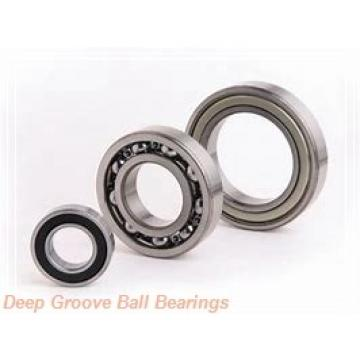 5 mm x 19 mm x 6 mm  5 mm x 19 mm x 6 mm  NMB R-1950ZZ deep groove ball bearings