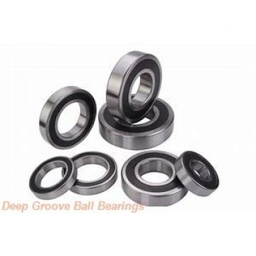 55 mm x 80 mm x 13 mm  55 mm x 80 mm x 13 mm  SKF 61911-2RS1 deep groove ball bearings