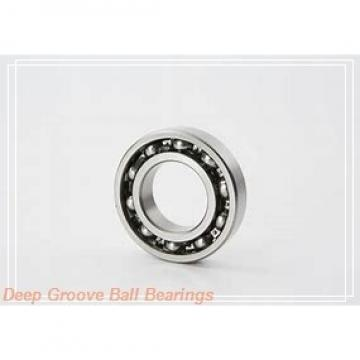 80 mm x 125 mm x 22 mm  80 mm x 125 mm x 22 mm  NACHI 6016 deep groove ball bearings