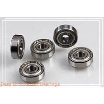 6,35 mm x 12,7 mm x 3,175 mm  6,35 mm x 12,7 mm x 3,175 mm  FBJ R188 deep groove ball bearings