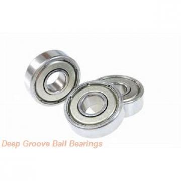 6 mm x 22 mm x 7 mm  6 mm x 22 mm x 7 mm  ISO F636-2RS deep groove ball bearings