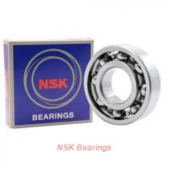 NSK 6206z  Self Aligning Ball Bearings #1 image